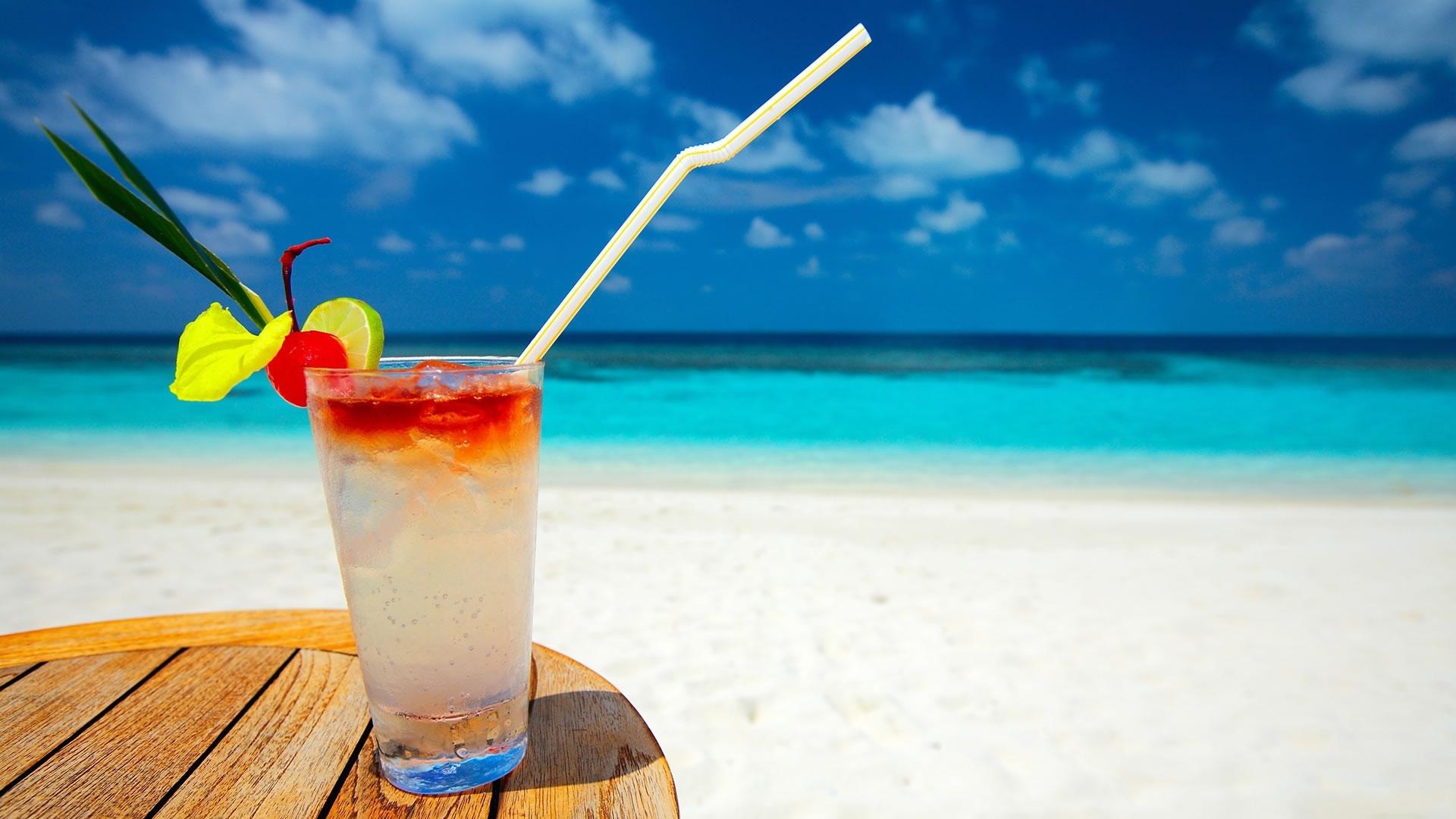 Bebida en la Playa
