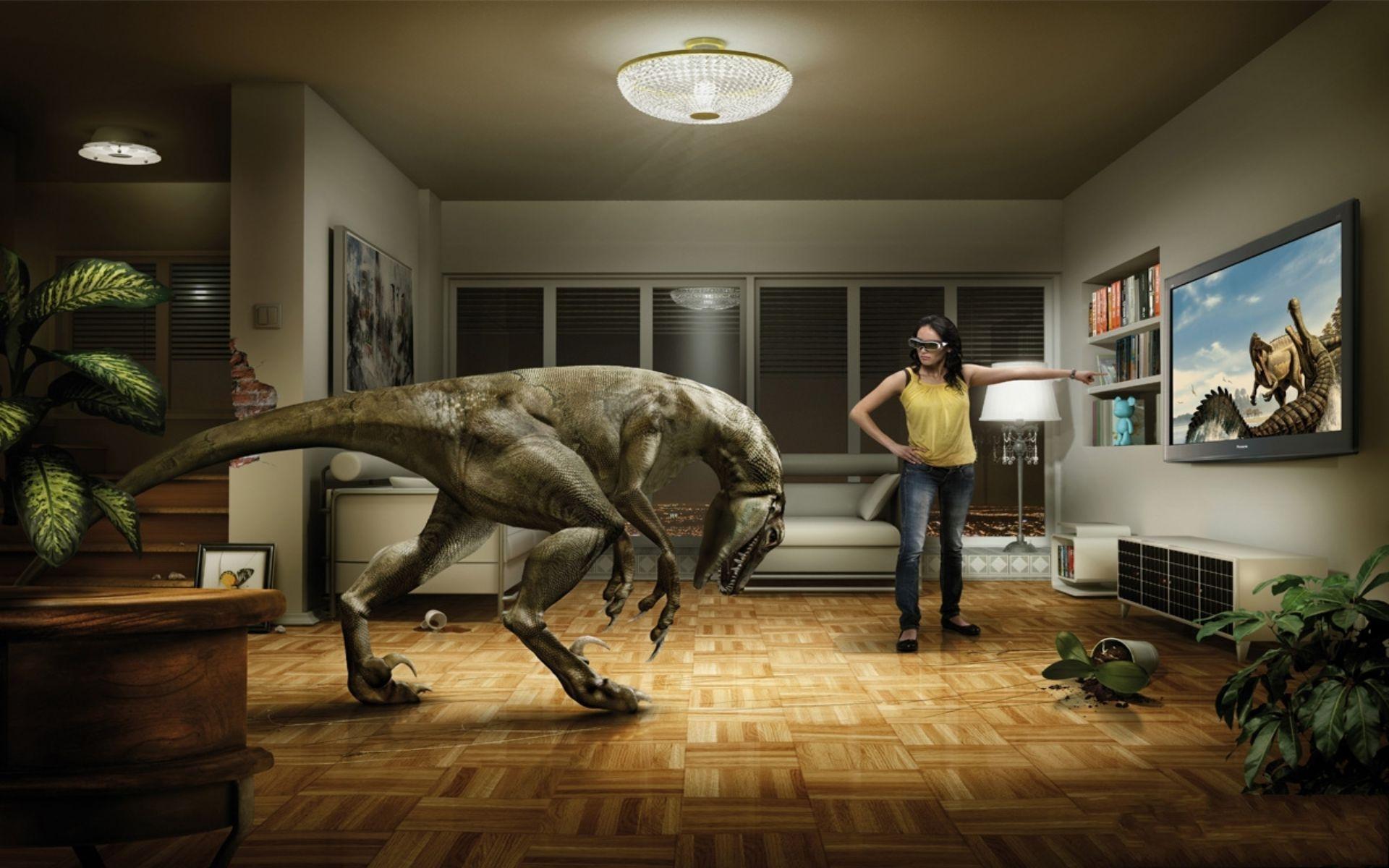 Dinosaurios en el Salón
