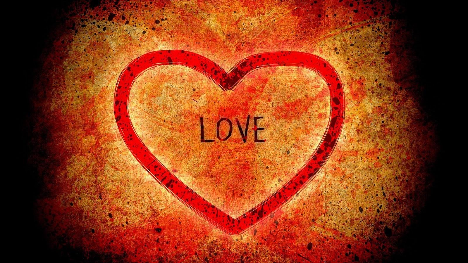 Fondo Grunge de Amor