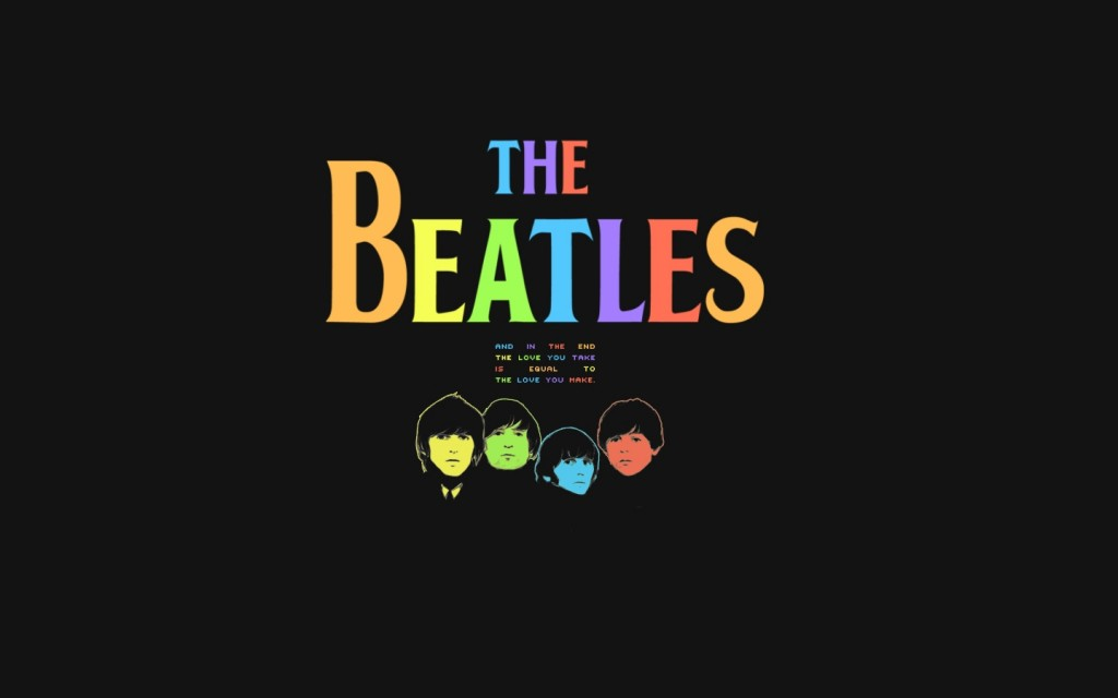 Wallpaper The Beatles