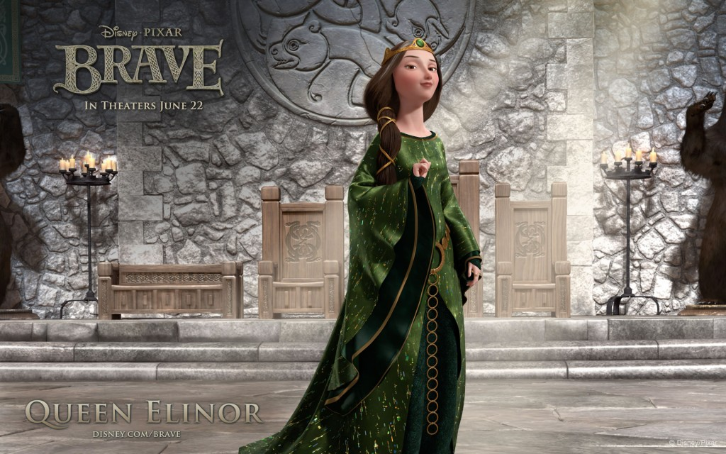 Wallpaper Brave. Queen Elinor
