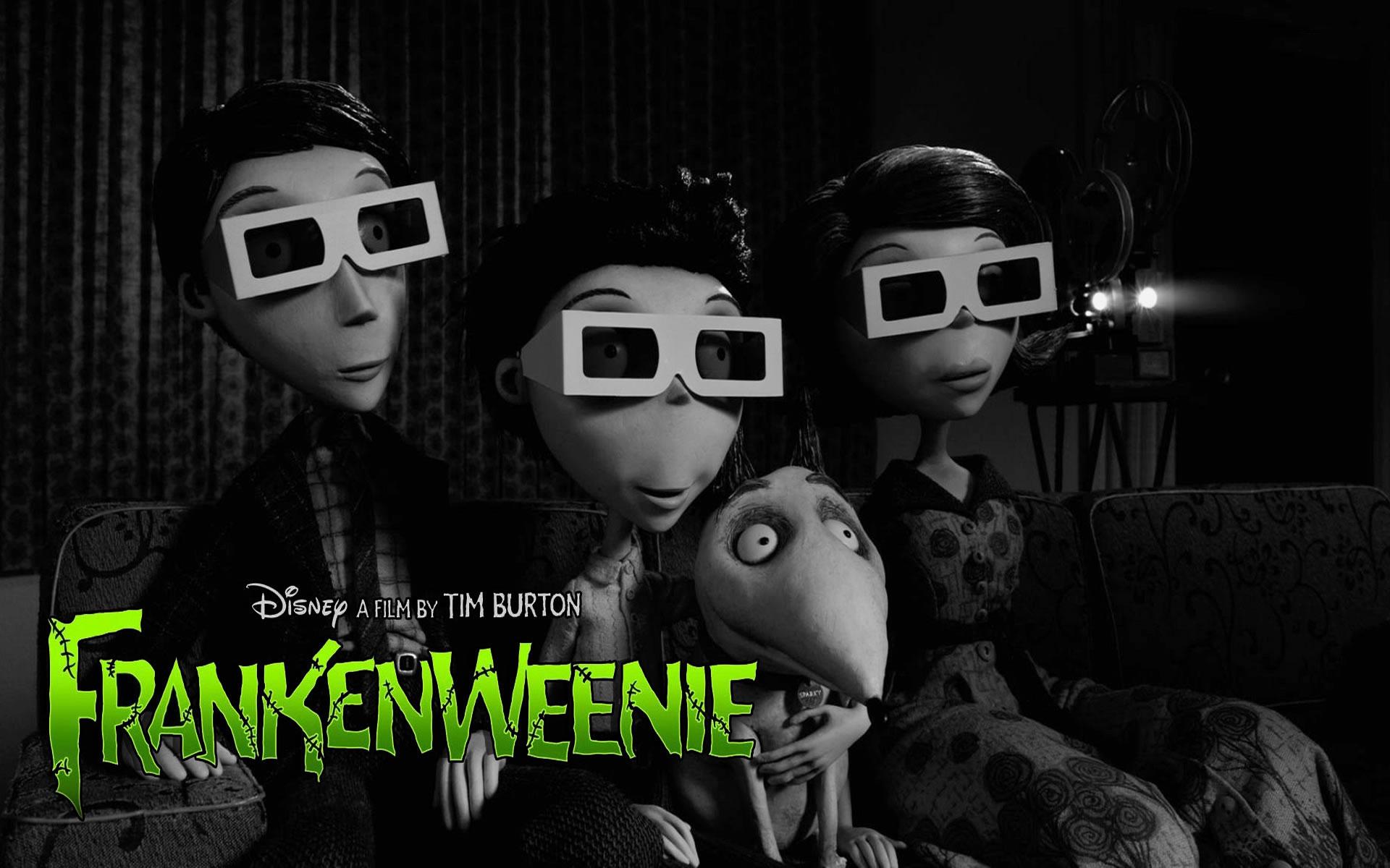 Cine en 3D. Frankenwennie
