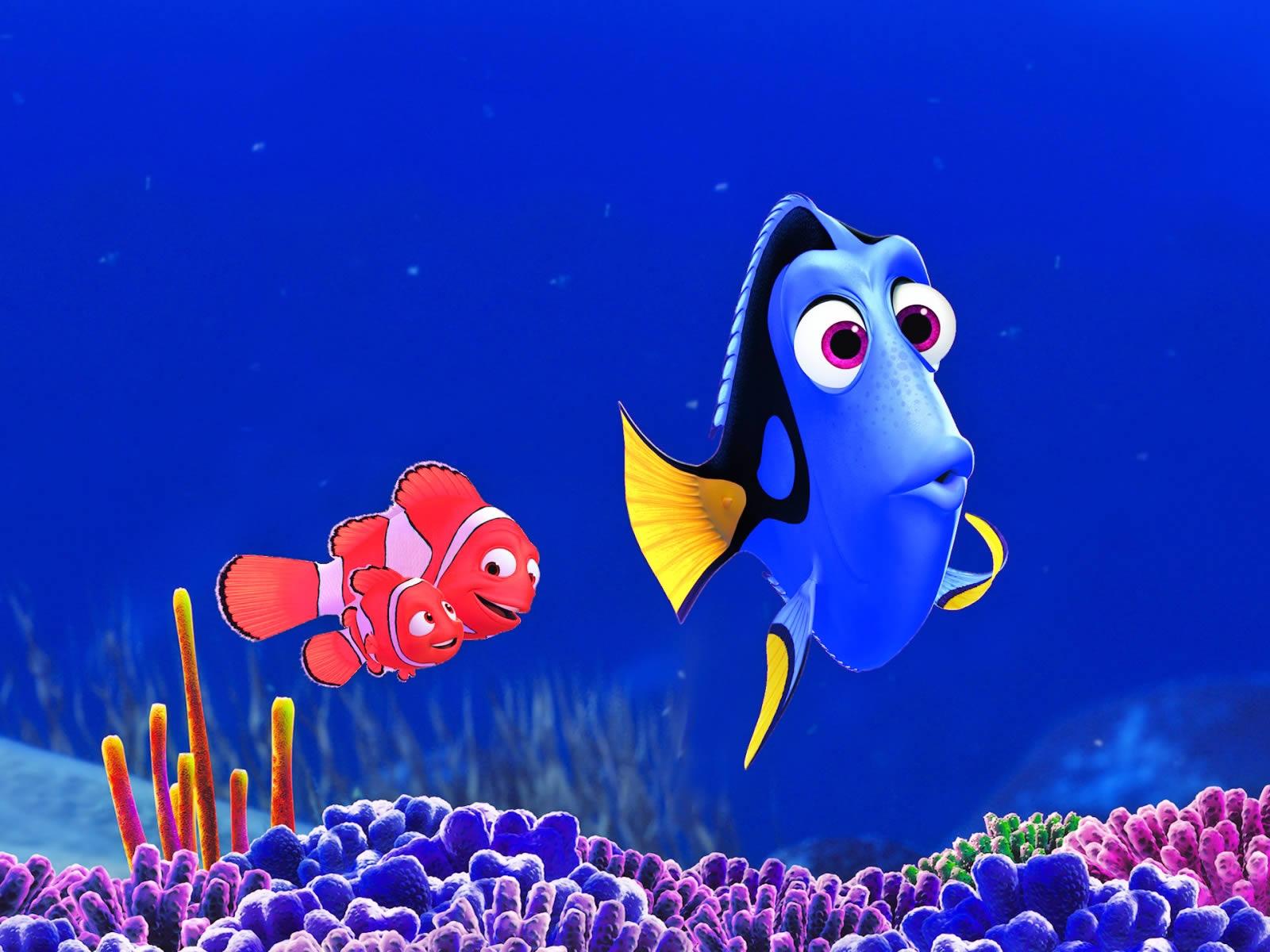 Fondos Buscando a Nemo