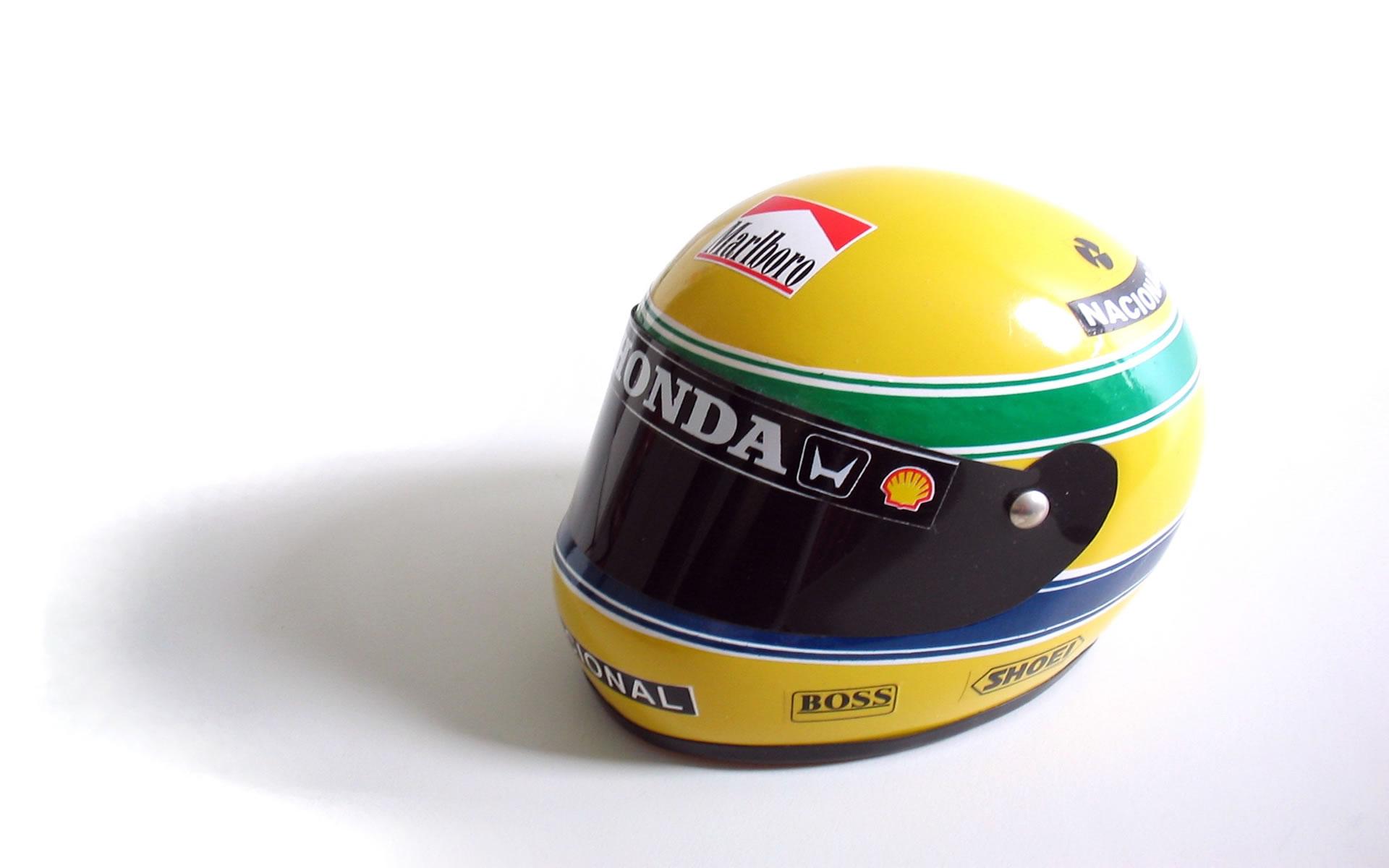 Wallpaper del Casco de Ayrton Senna