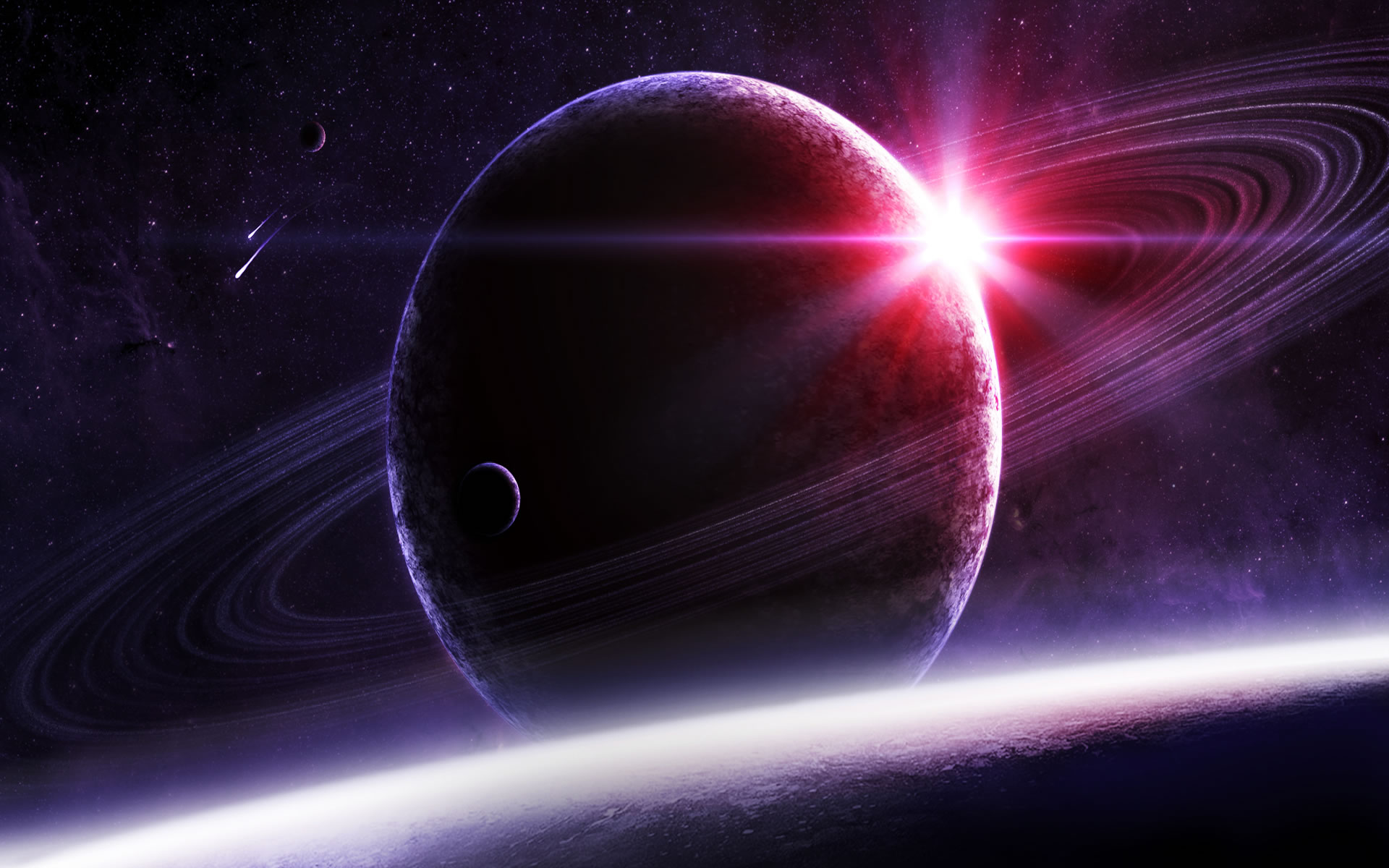 Wallpaper Planetas Lejanos