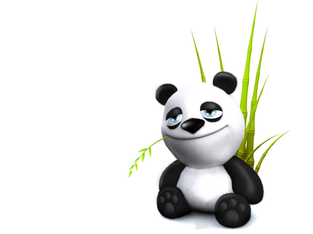 Wallpaper Oso Panda