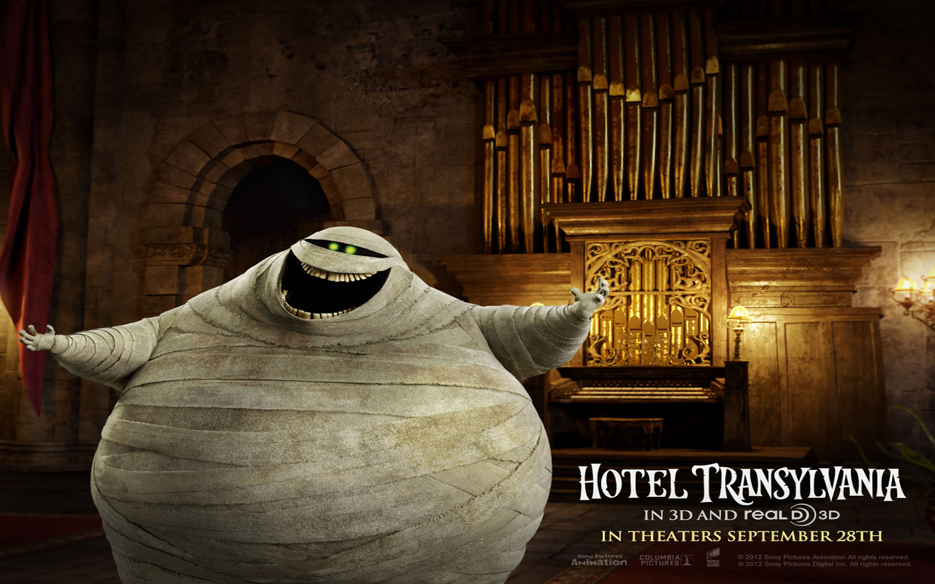 Wallpapers de Cine. Hotel Transylvania