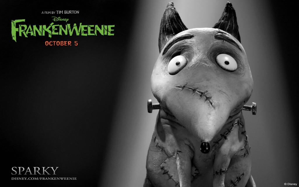 Wallpapers de Sparky. Frankenweenie