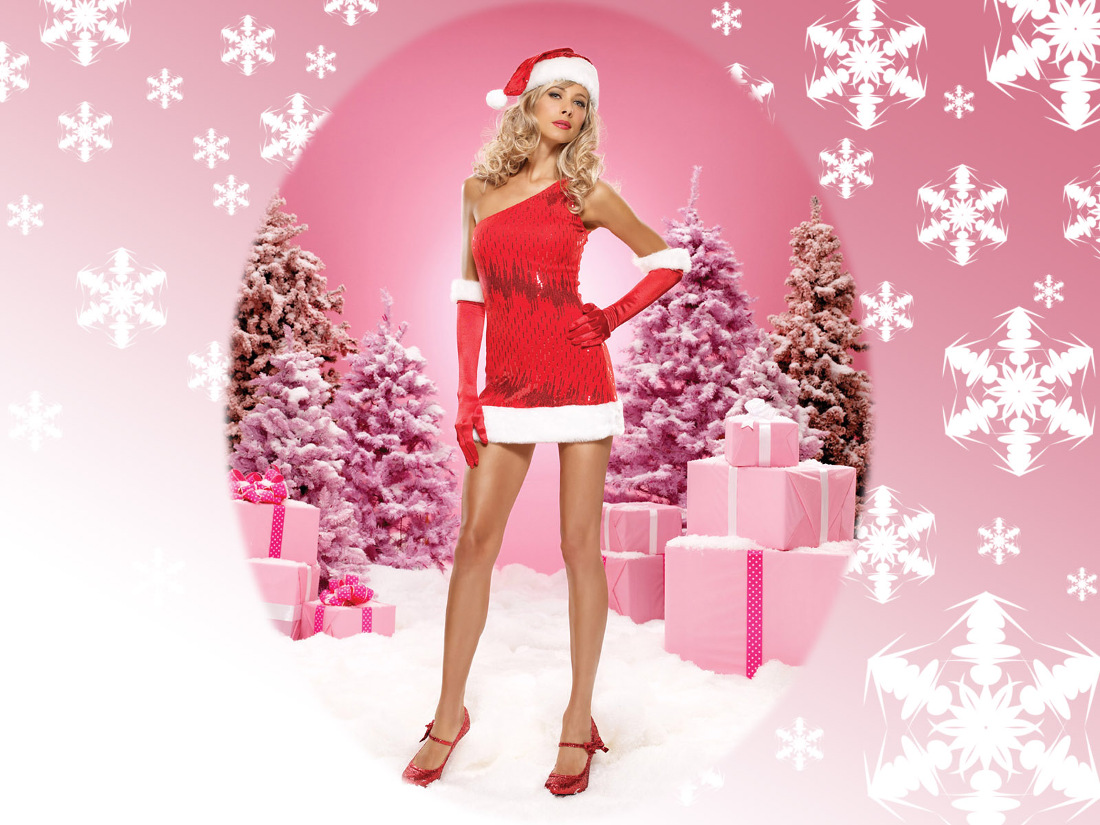 wallpapers chicas santa