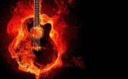 Guitarra Ardiendo