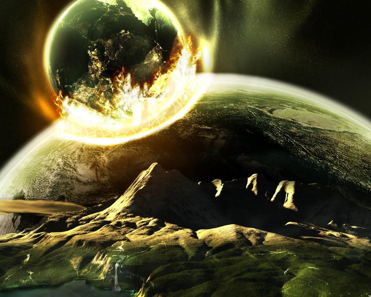 La Explosión de un Planeta