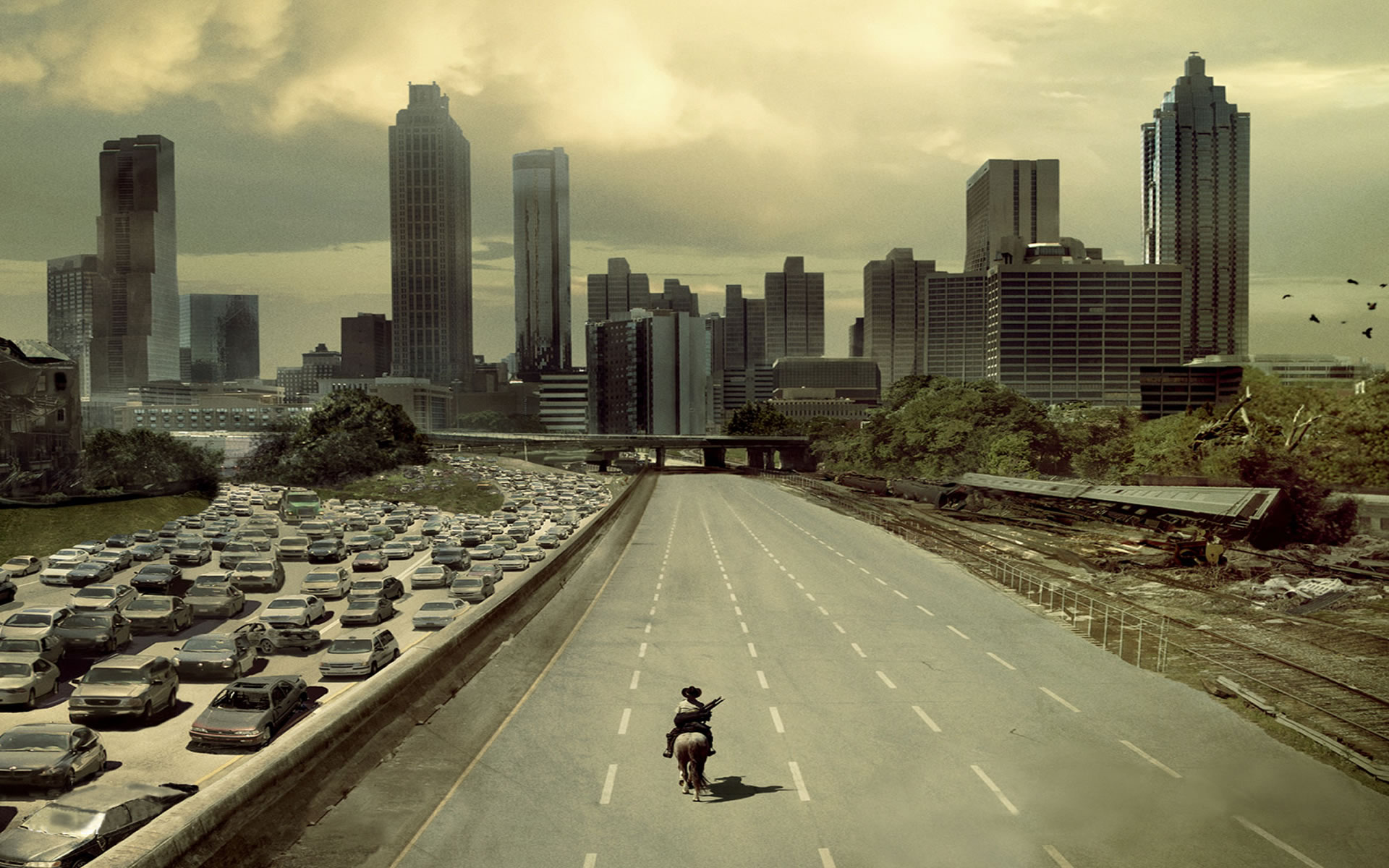 The Walking Dead fondos
