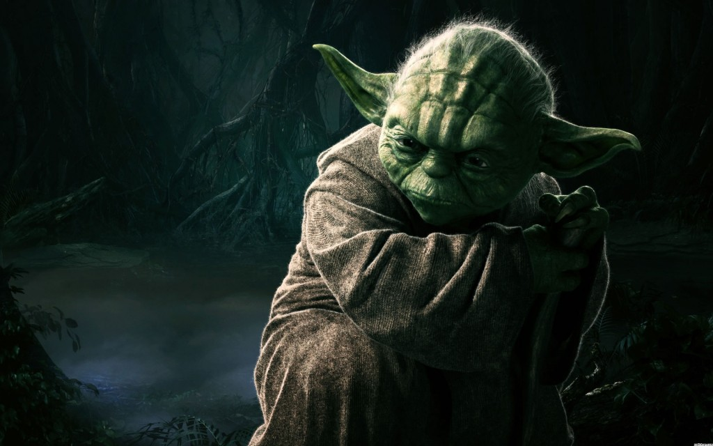 Maestro Yoda. Wallpaper Star Wars