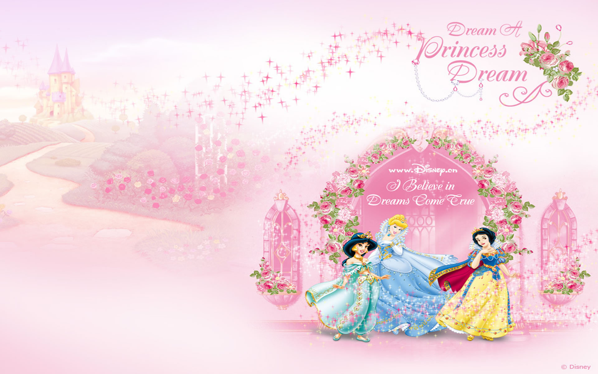 Imagenes De Baños Romanticos:Fondos De Princesas Para Ninas