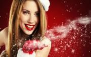 Santa Girl Wallpaper