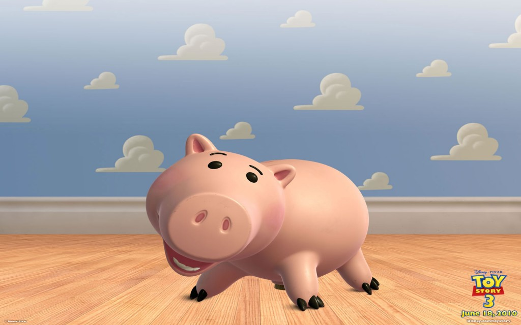 Cerdito. Toy Story 3 Wallpaper