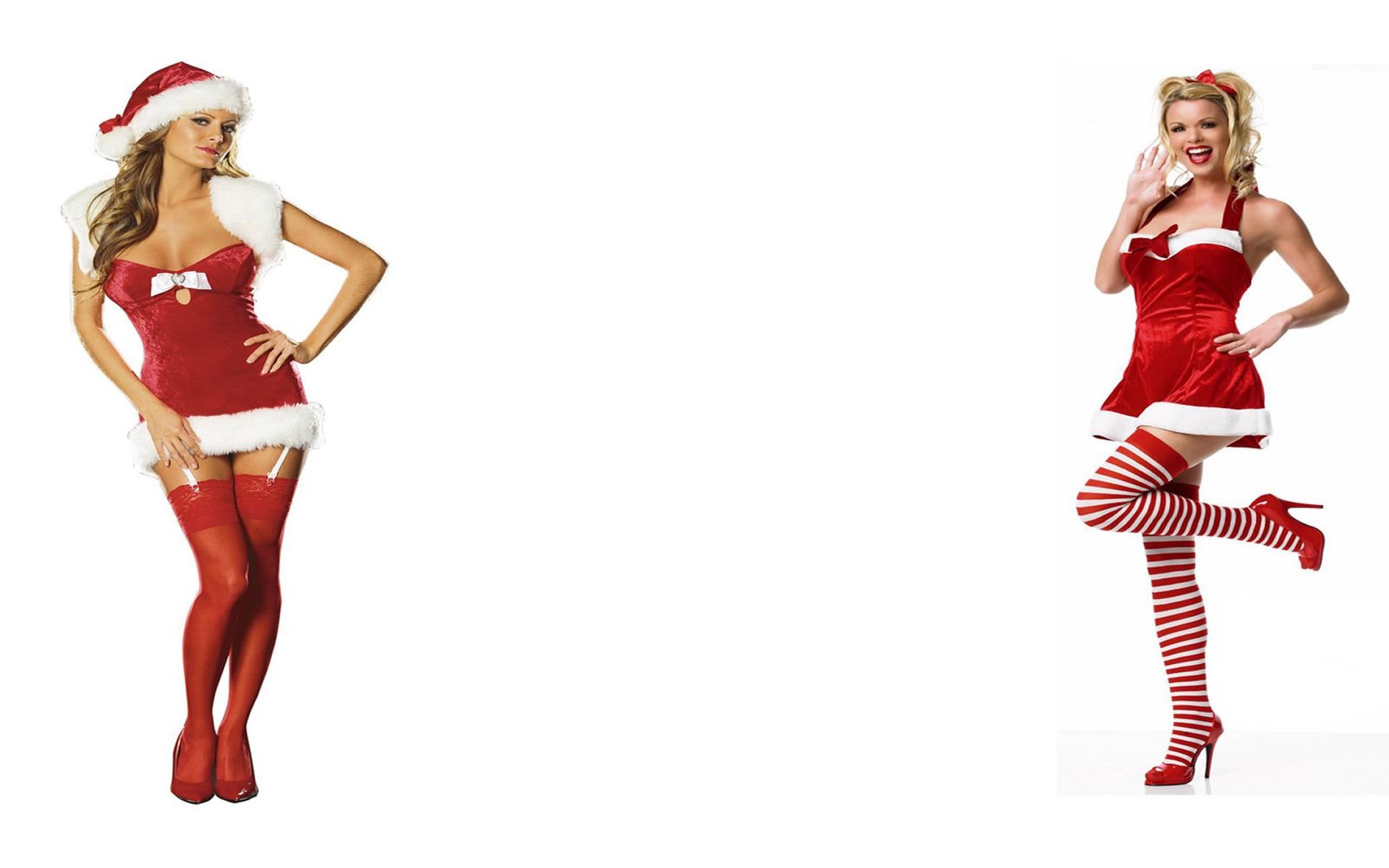 Wallpapers Chicas de Navidad