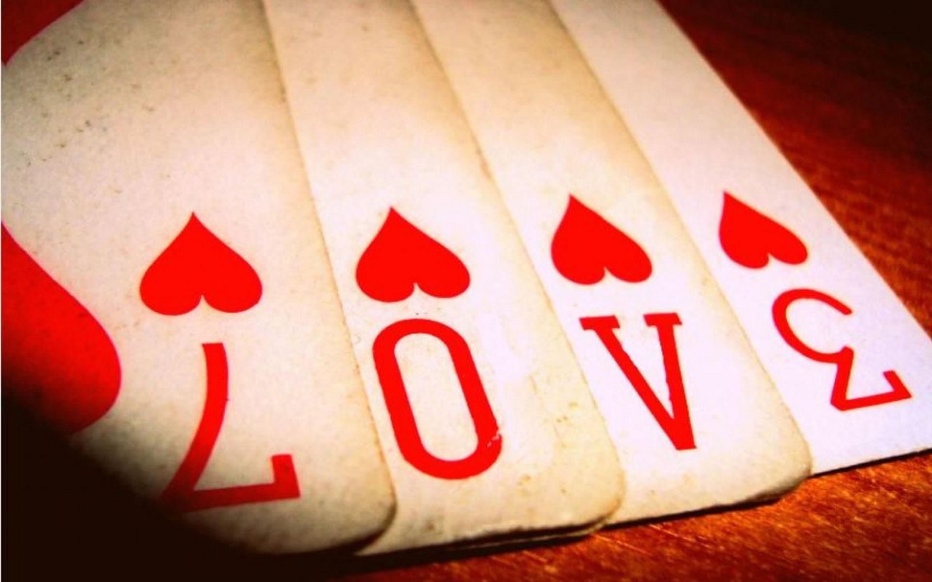 Cartas de Poker Románticas