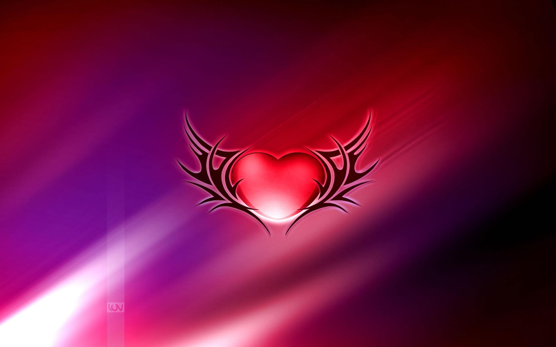 Corazón con alas