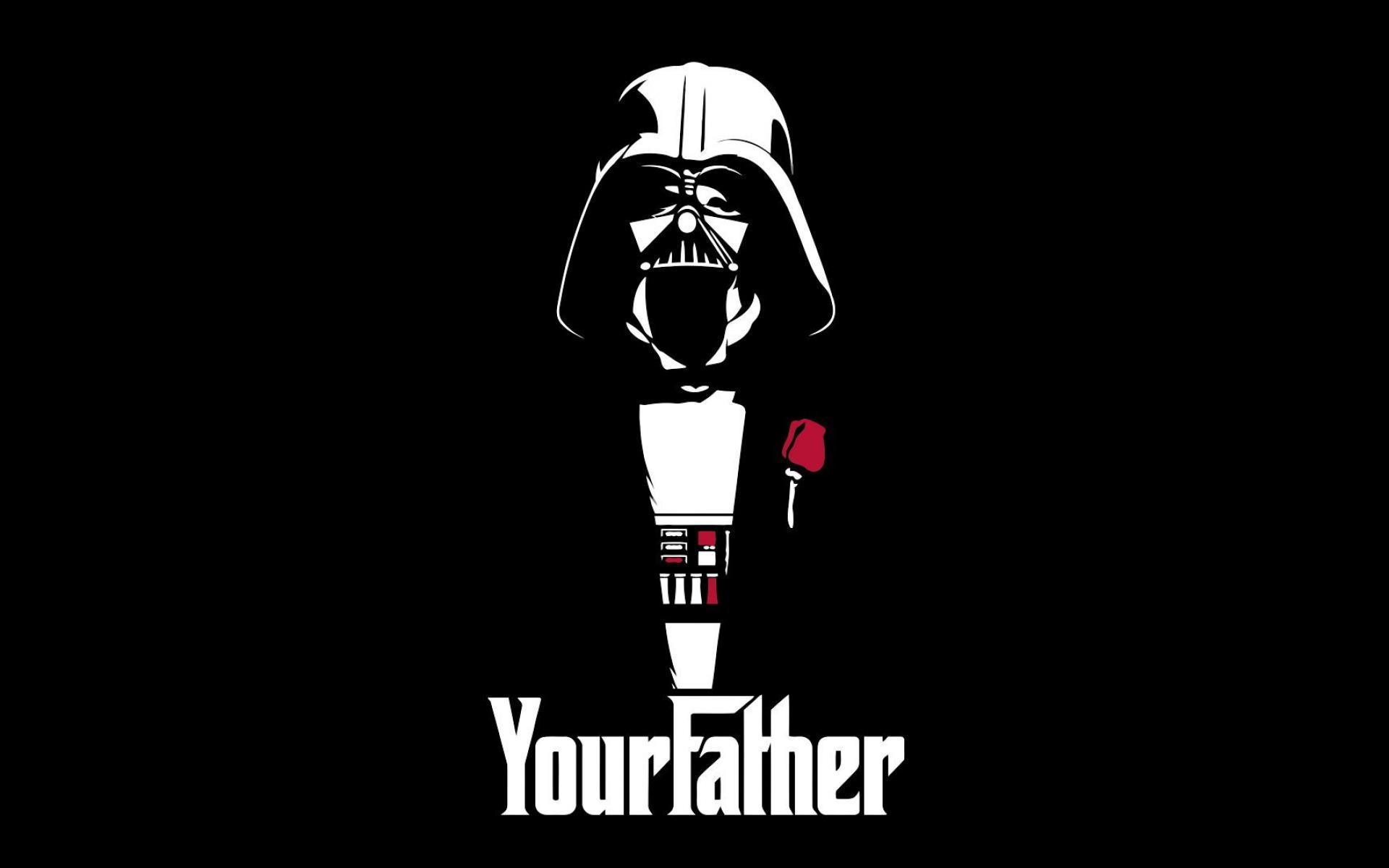 Darth Vader en versión El Padrino