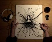 Dibujando a una mujer