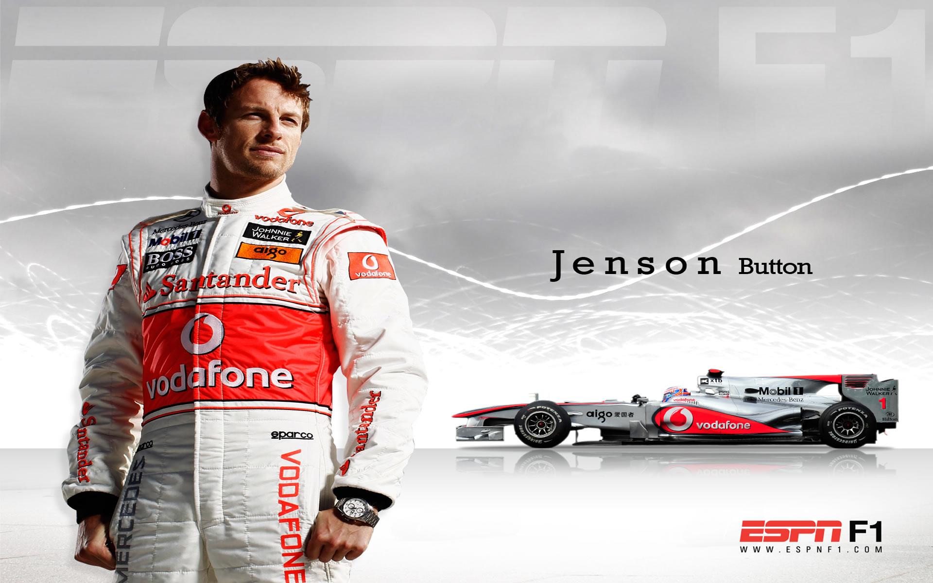 Jenson Button Wallpapers Fórmula 1