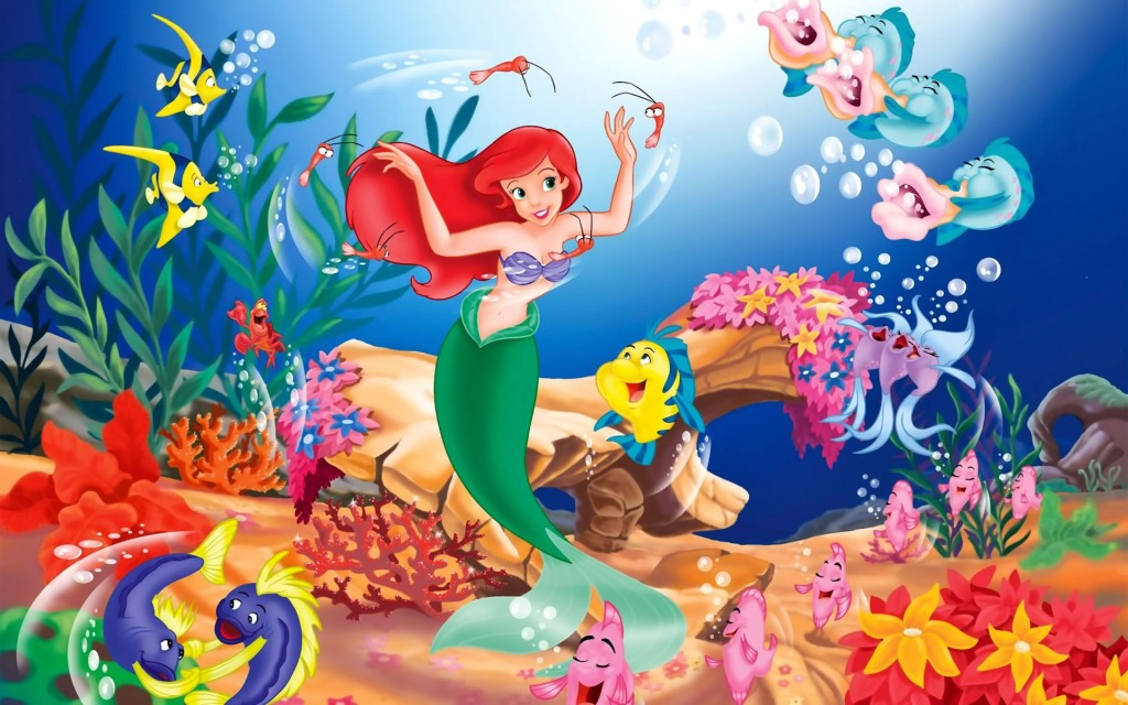 La Sirenita. Wallpapers Disney