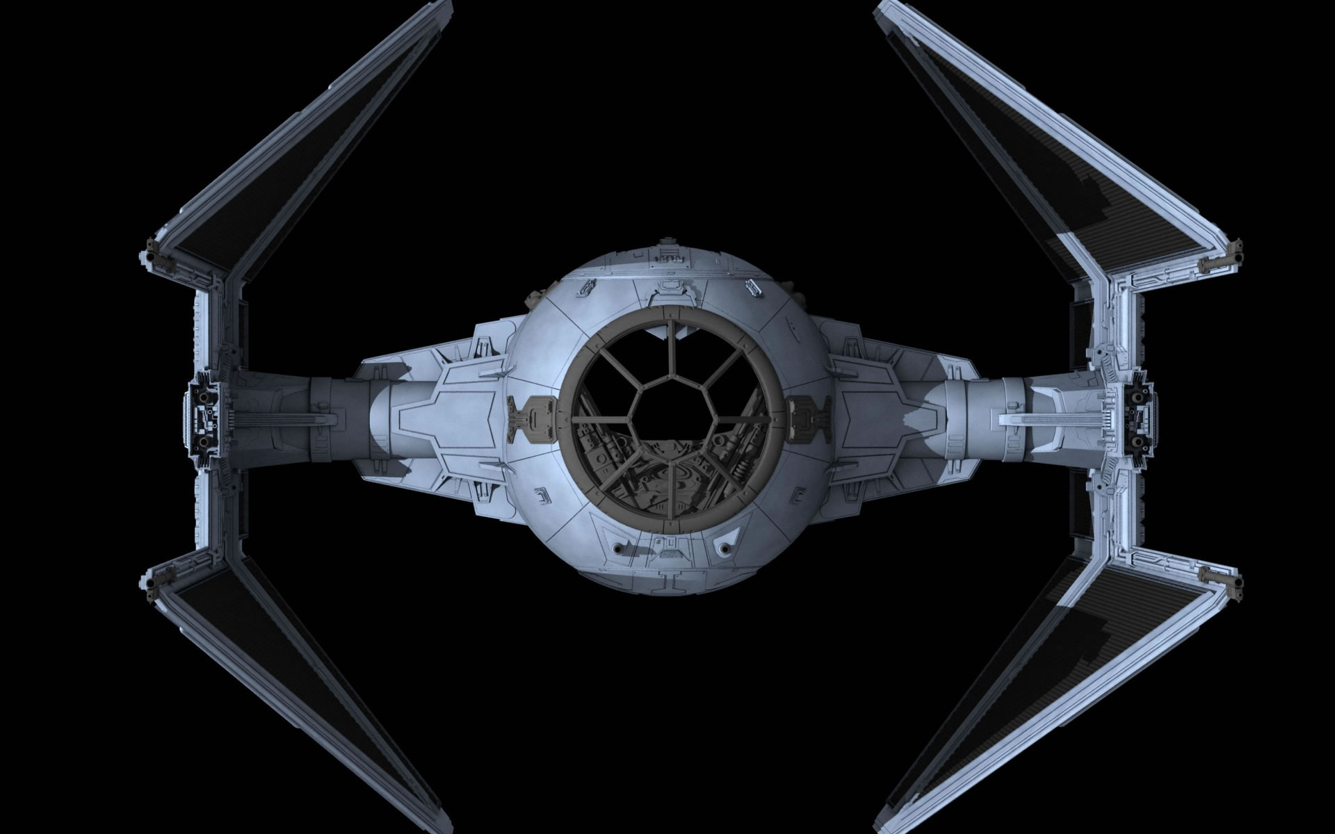 Nave de Combate Star Wars Tie Fighter