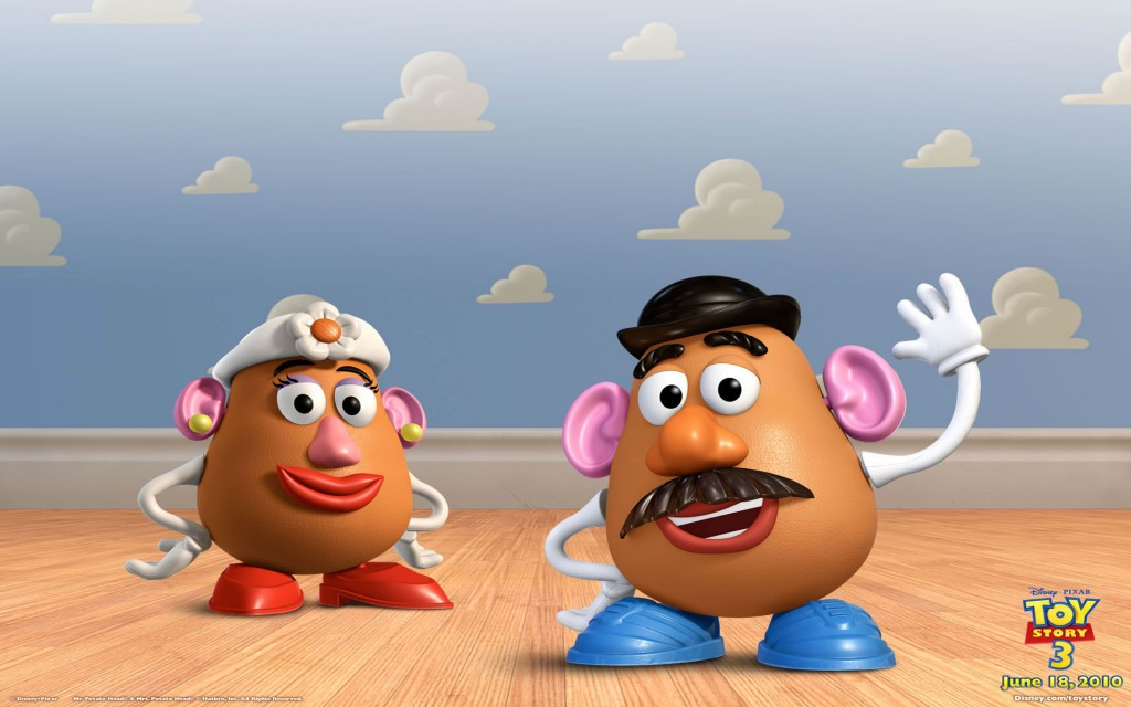 Toy Story 3. Wallpapers Mrs Potato