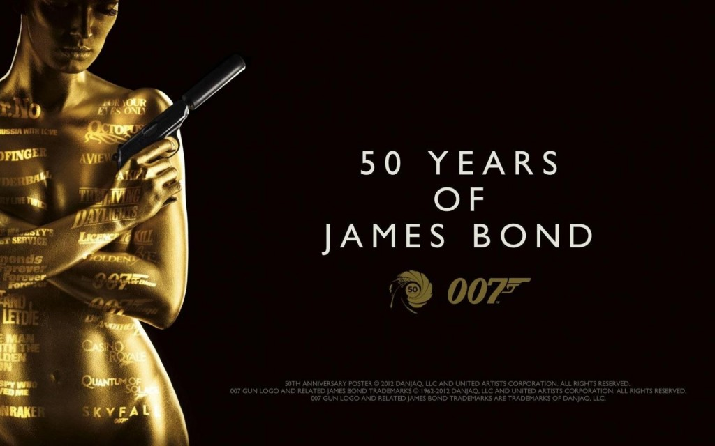 Wallpaper James Bond Aniversario