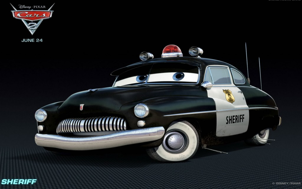 Wallpaper Cars 2 Sheriff