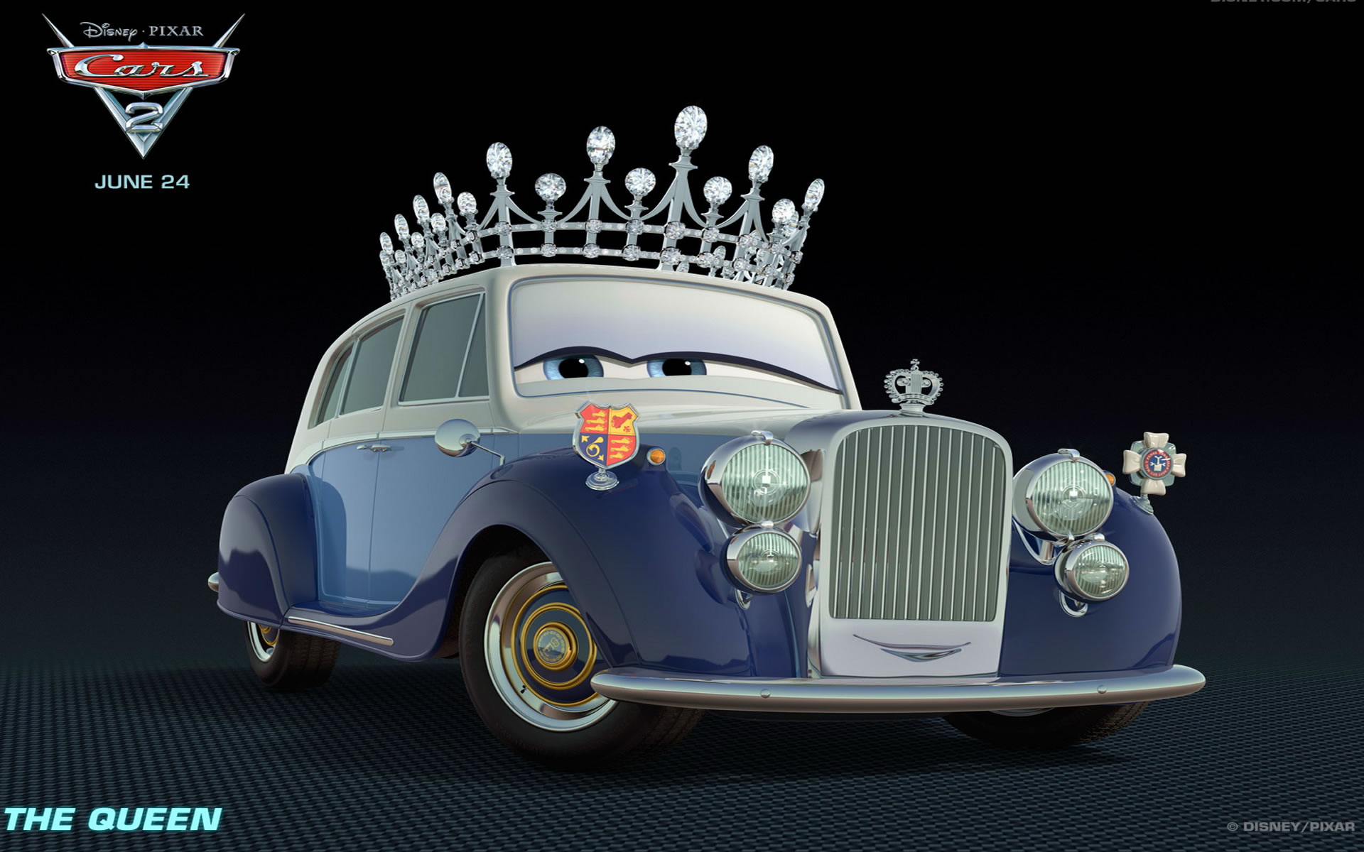 Wallpaper Cars 2 The Queen