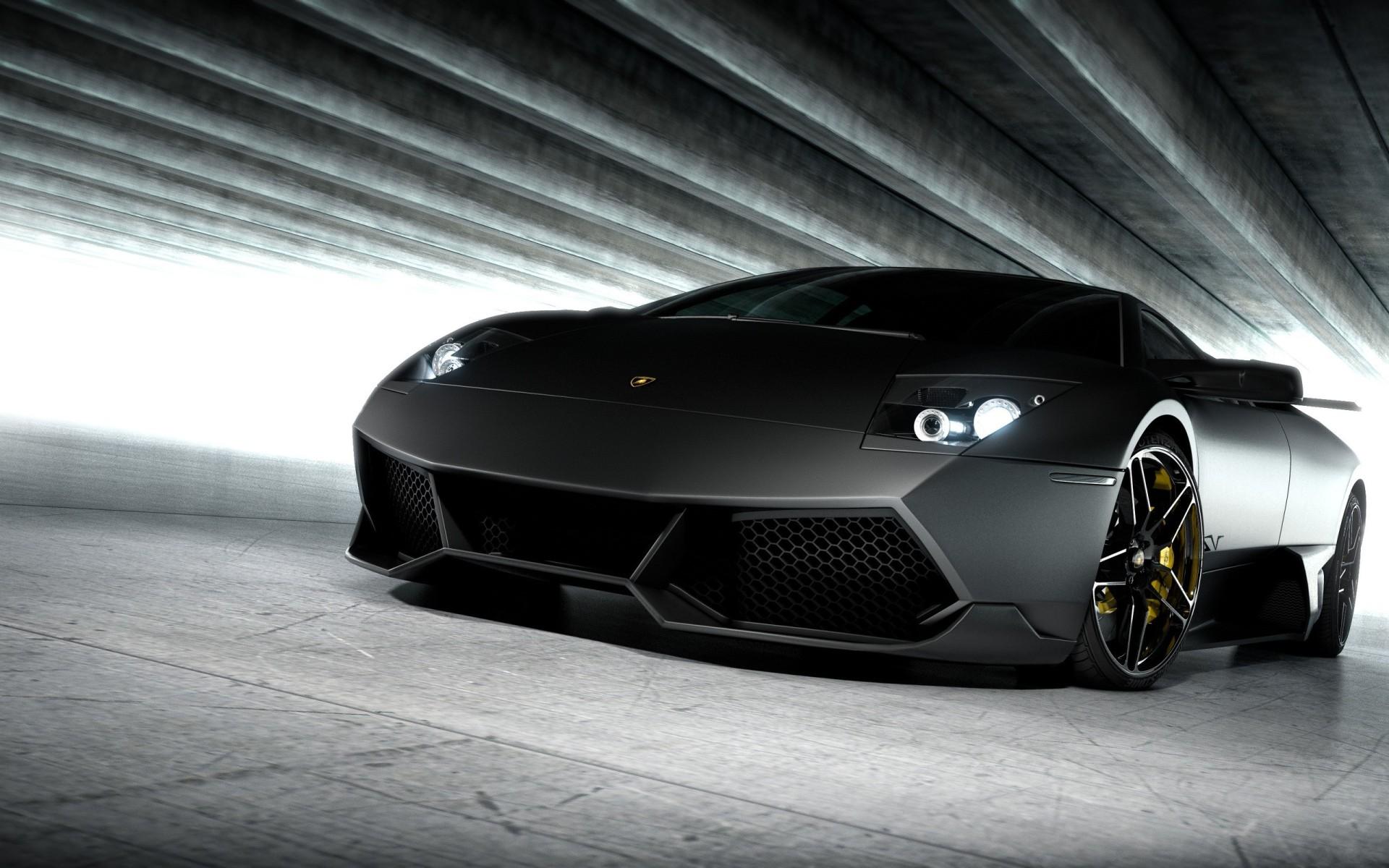 Wallpaper Lamborghini Murciélago Negro