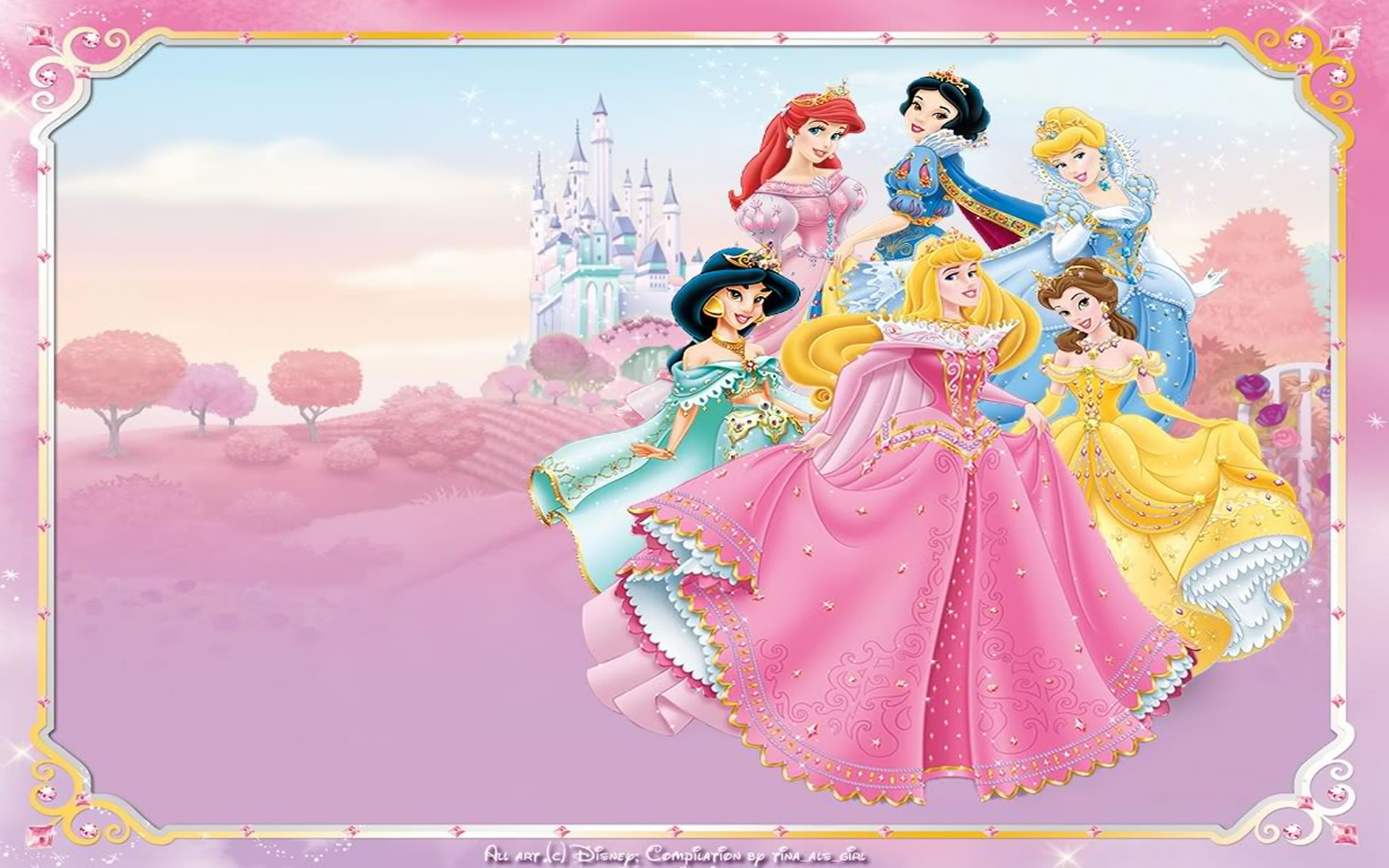 Wallpapers Infantiles Princesas Disney