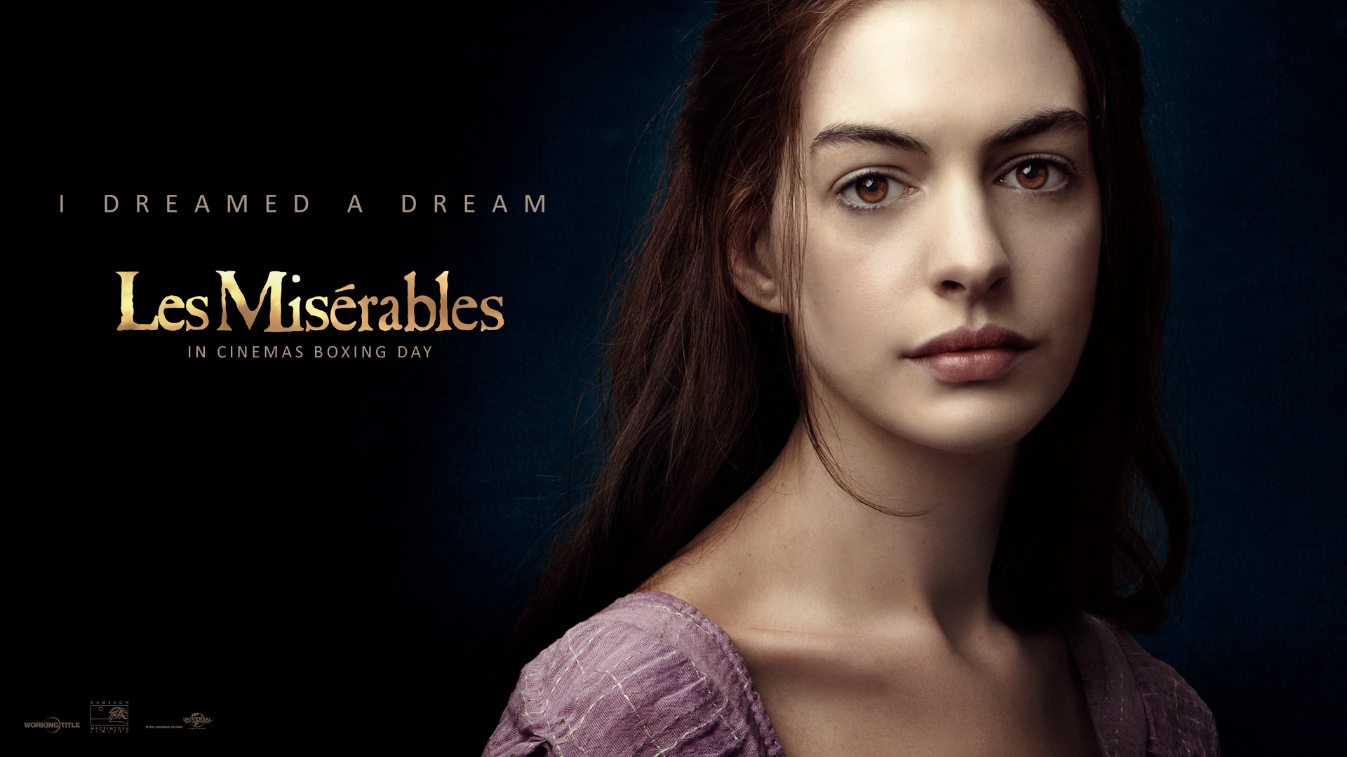 Wallpapers Los Miserables. Anne Hathaway