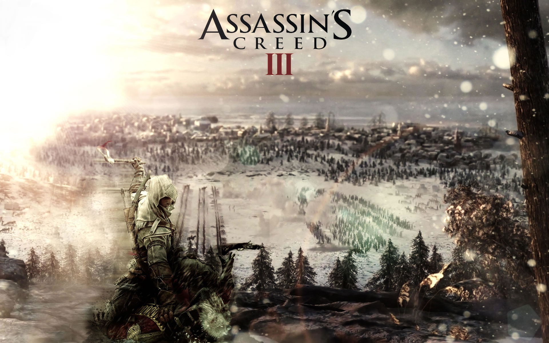 Assassins Creed 3 en pleno asesinato