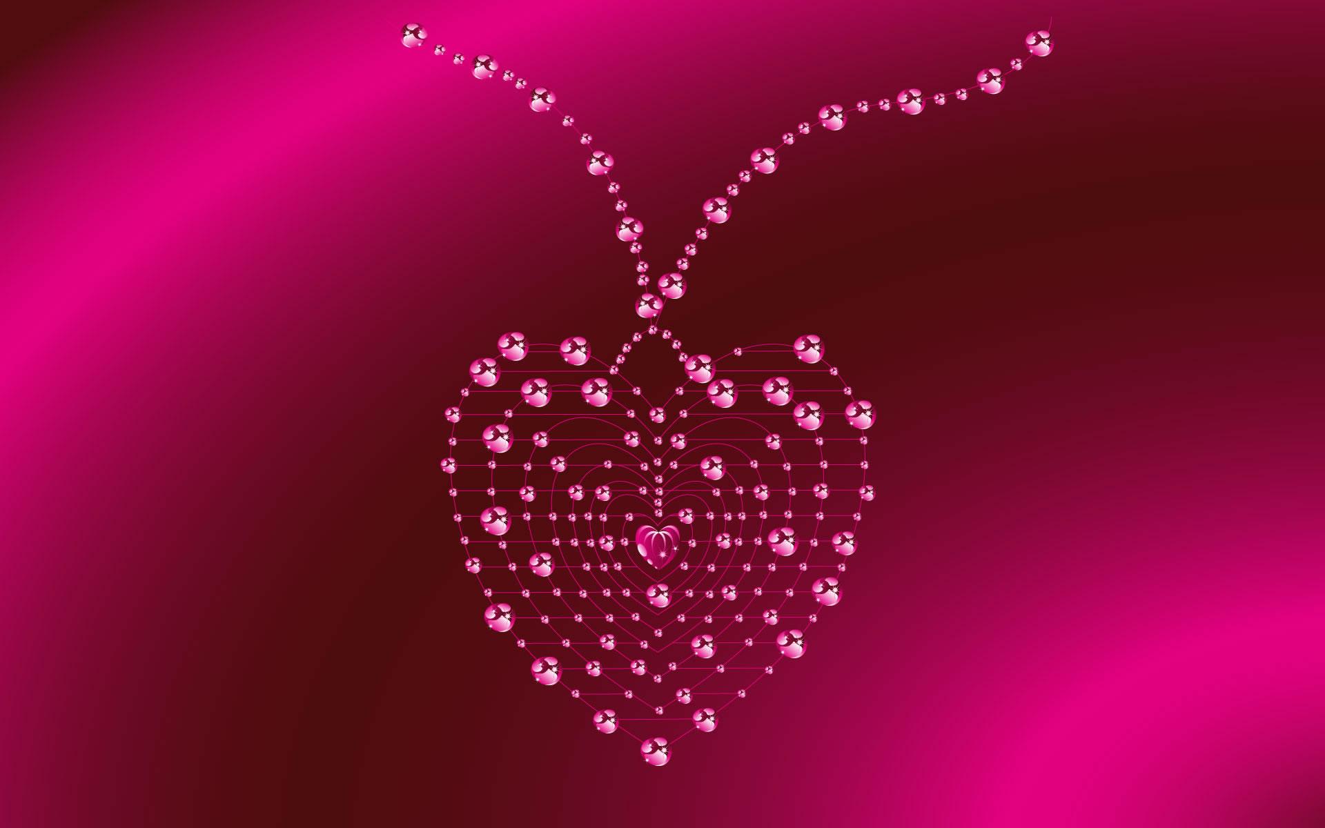 Corazón con Brillantes