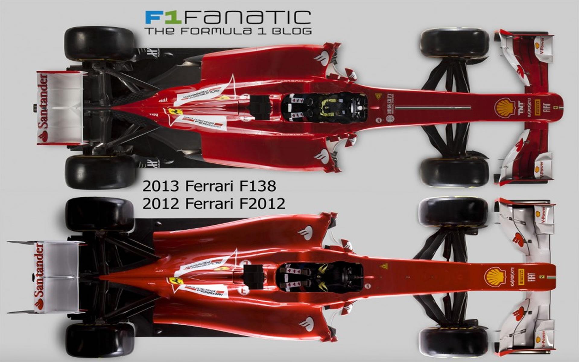 Ferrari F138 - Ferrari 2012 desde arriba