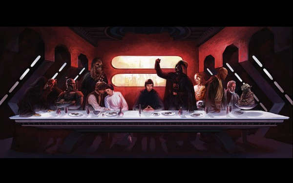 La última Cena Wallpaper Star Wars