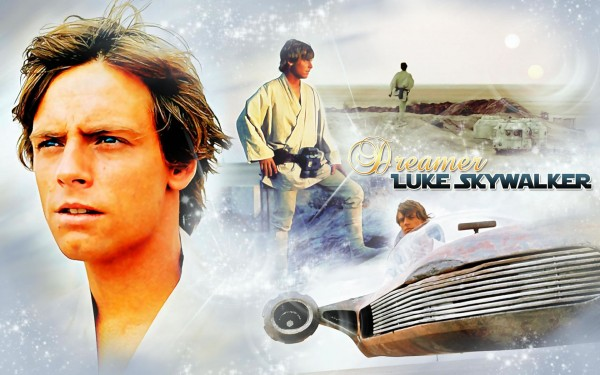 Luke Skywalker. Wallpaper Star Wars