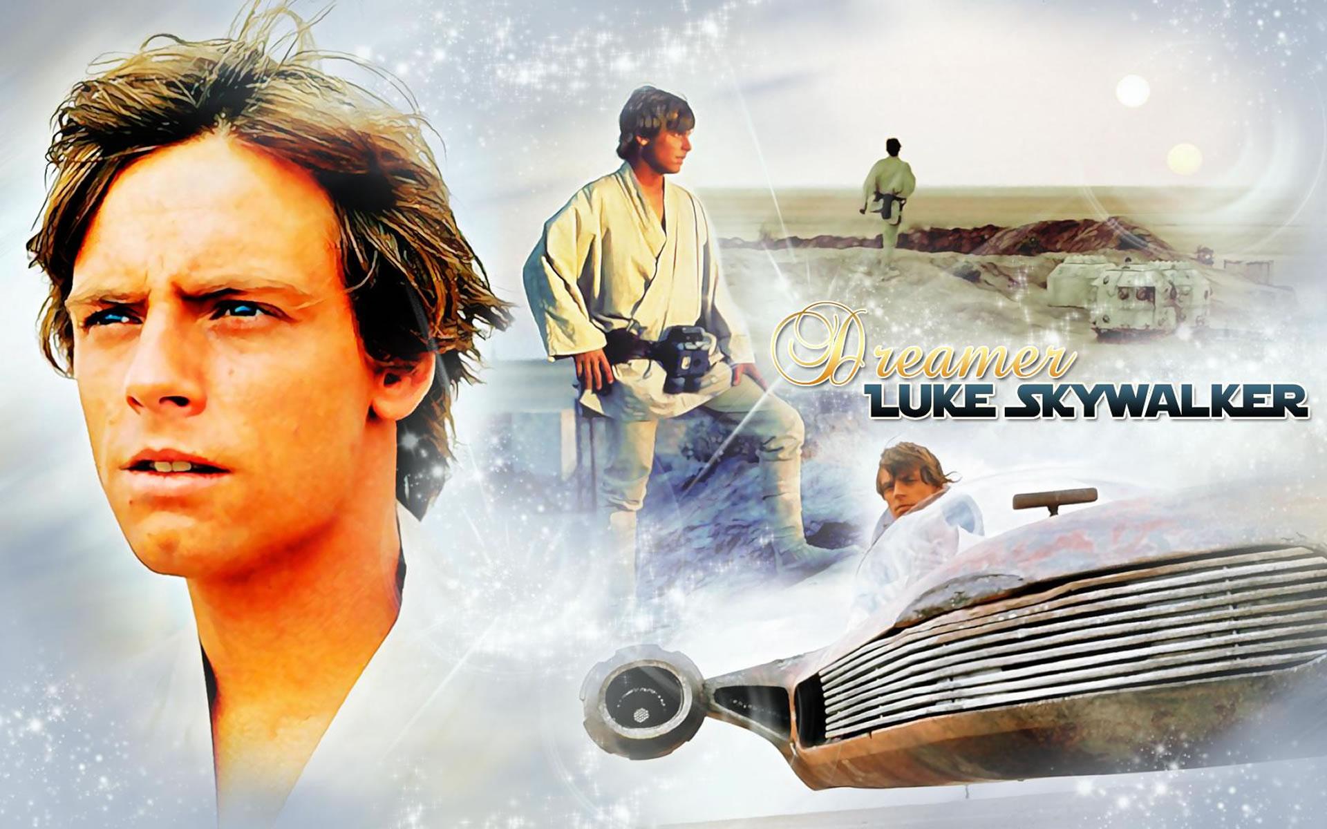 Luke Skywalker. Wallpaper Star Wars