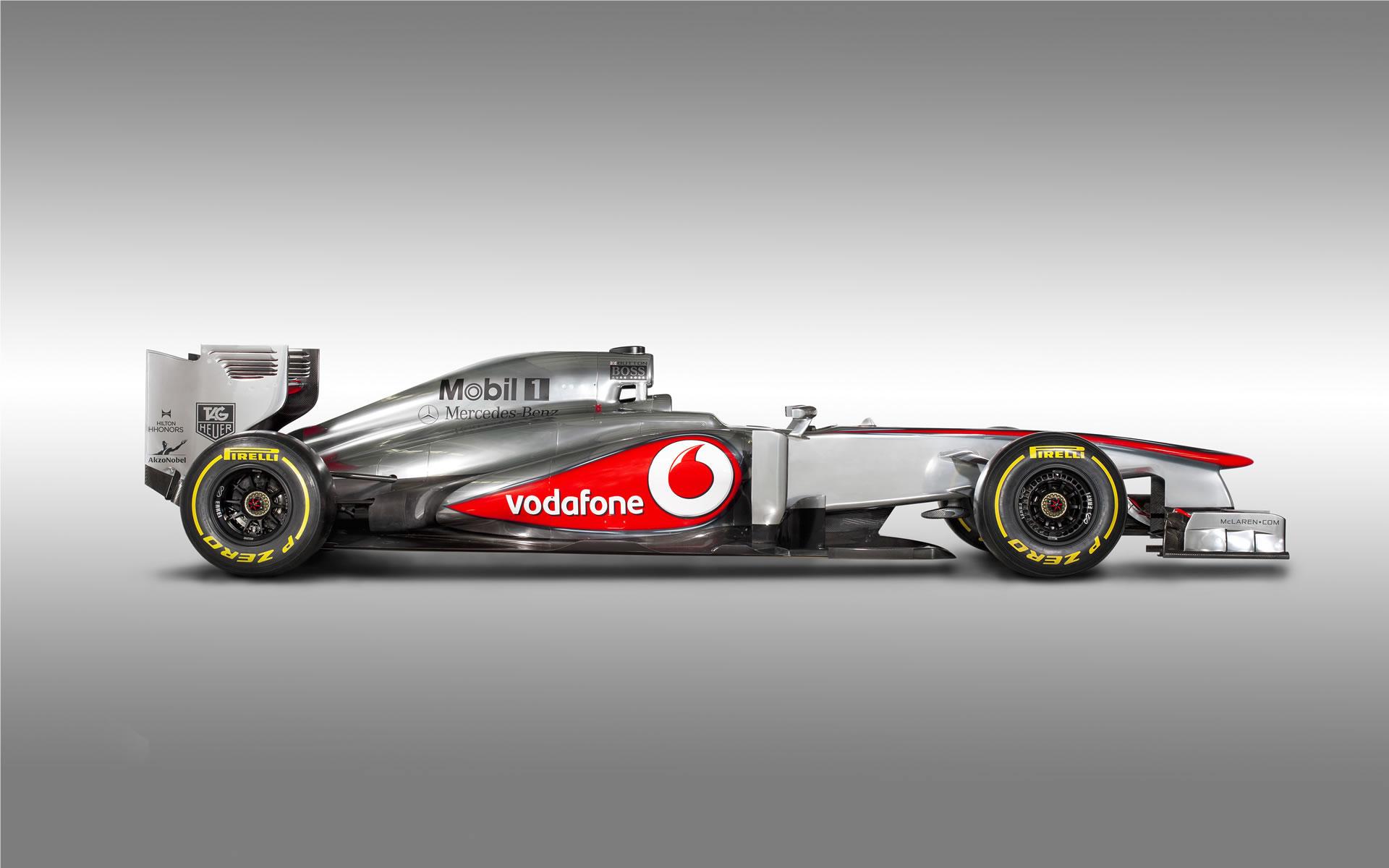 Wallpaper McLaren 2013