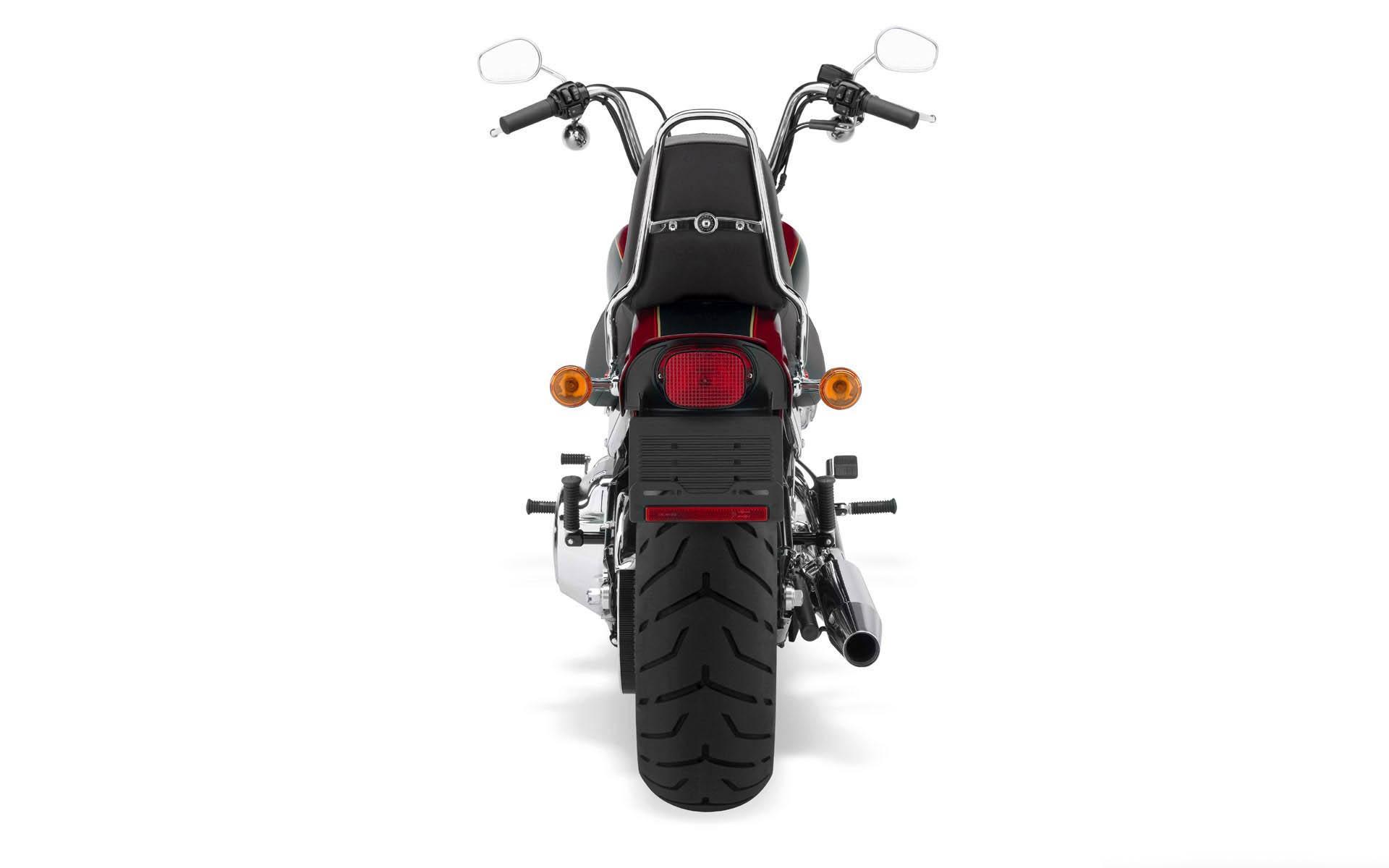 Harley Davidson trasera