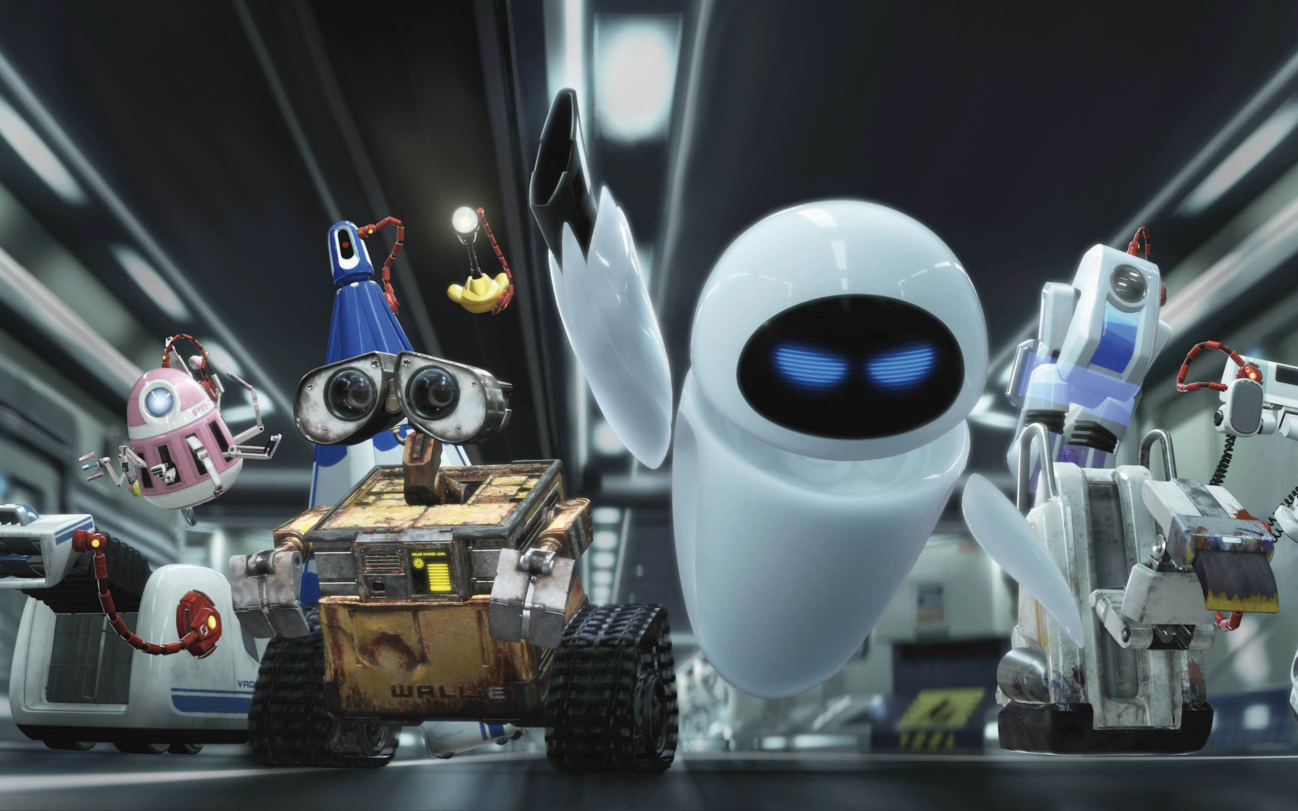 Eve y Wall-E