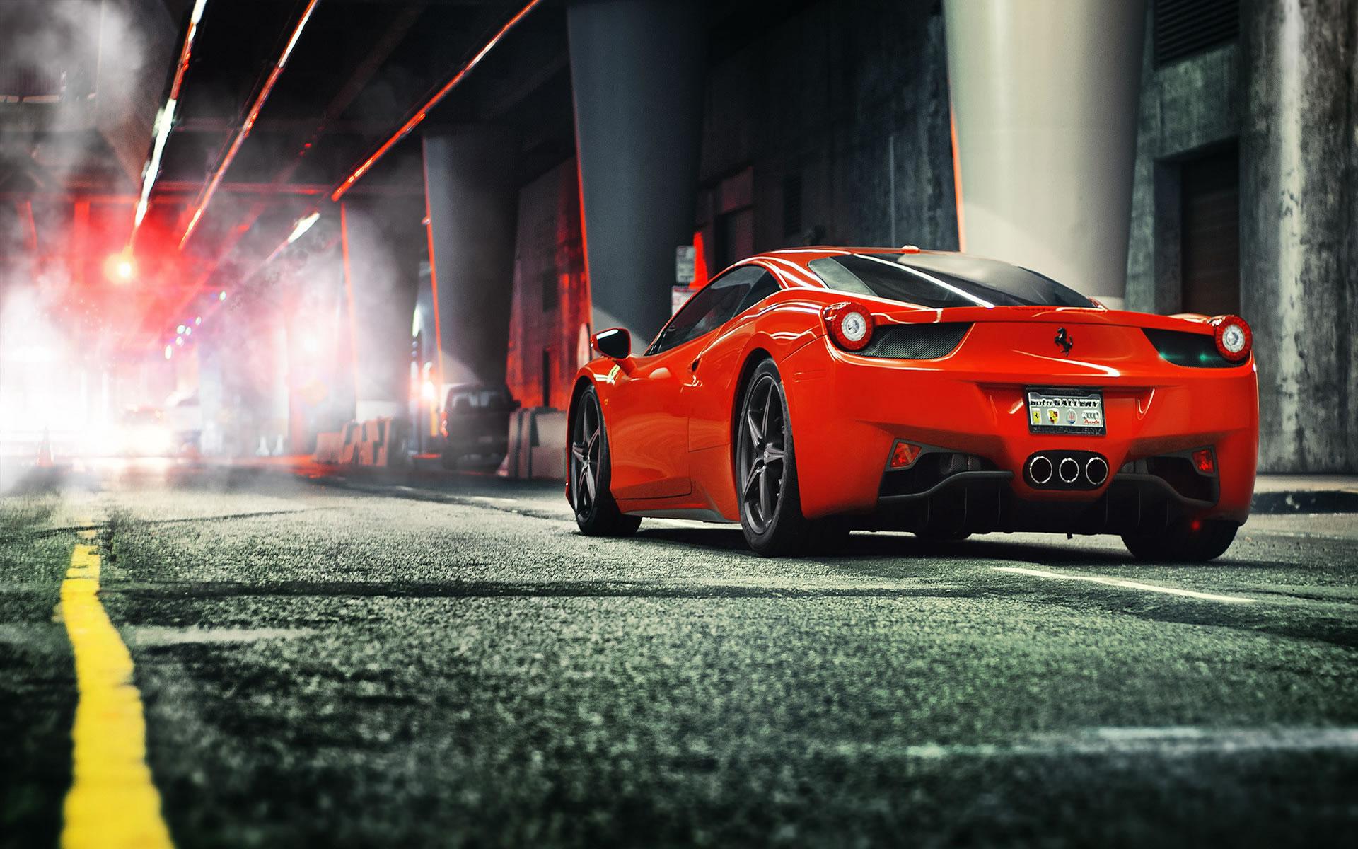 Ferrari Rojo Wallpaper Motor