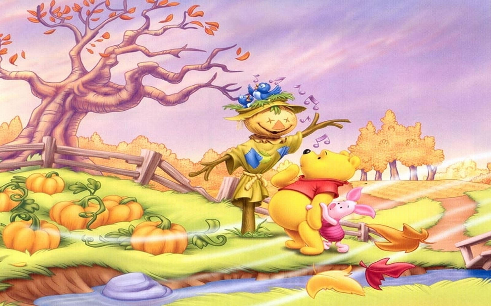 Wallpaper Winnie The Pooh