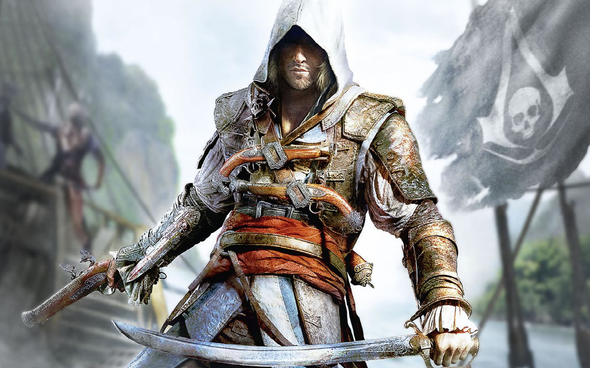 Wallpaper Assassins Creed 4 Black Flag