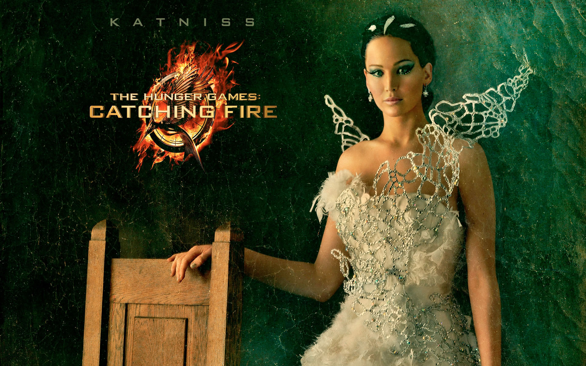 Fondo Catching Fire En Llamas.