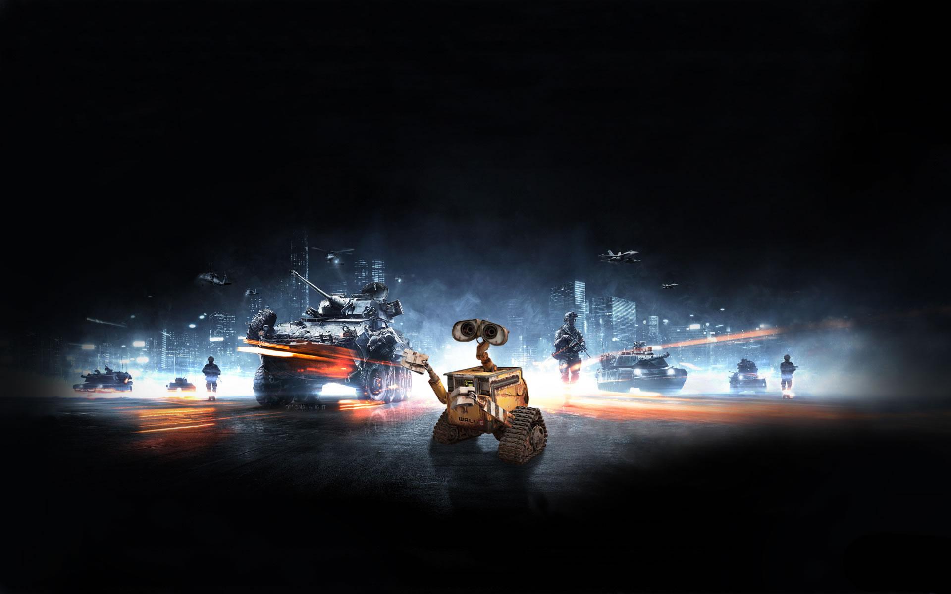 Wall-e Battlefield