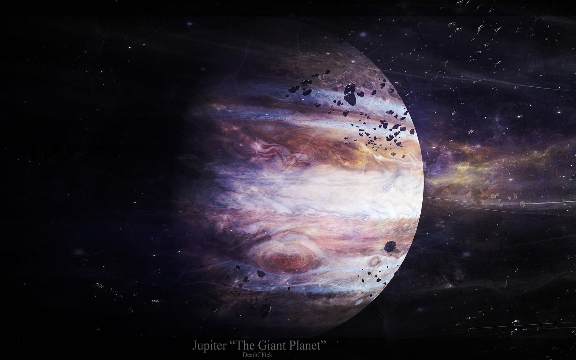 Wallpaper Jupiter.